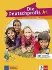 Die Deutschprofis - ниво A1: Учебник по немски език + онлайн материали - учебна тетрадка