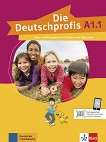 Die Deutschprofis - ниво A1.1: Комплект от учебник и учебна тетрадка по немски език + онлайн материали - Olga Swerlowa - учебна тетрадка