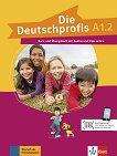 Die Deutschprofis - ниво A1.2: Комплект от учебник и учебна тетрадка по немски език + онлайн материали - помагало