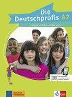 Die Deutschprofis - ниво A2: Учебник по немски език + онлайн материали - Olga Swerlowa -