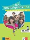 Die Deutschprofis - ниво A2.1: Комплект от учебник и учебна тетрадка по немски език + онлайн материали - Olga Swerlowa -