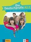 Die Deutschprofis - ниво A2.2: Комплект от учебник и учебна тетрадка по немски език + онлайн материали - помагало