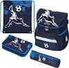 Ученическа раница - Loop: Kick It - Комплект с 2 несесера и спортна торба -