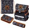 Ученическа раница - Loop: Tiger - Комплект с 2 несесера и спортна торба -