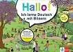 Hallo! Ich lerne Deutsch mit Bildern: Помагало по немски език -
