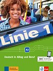 Linie - ниво 1 (A2): Комплект от учебник и учебна тетрадка по немски език + DVD-ROM - помагало
