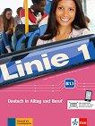 Linie - ниво 1 (B1.1): Комплект от учебник и учебна тетрадка по немски език + DVD-ROM - помагало