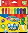 Флумастери - Baby - Комплект от 8 цвята -