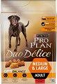 Purina Pro Plan Duo Delice Optibalance Beef Medium & Large Adult - Суха храна с говеждо месо за кучета от средни и големи породи на възраст над 1 година - чувал от 2.5 kg -