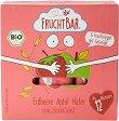 FruchtBar - Био мюсли десерти с ягода и ябълка - Опаковка от 6 броя x 23 g за бебета над 12 месеца -