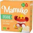 Mamuko - Био безмлечна каша с овес и царевица - Опаковка от 240 g за бебета над 6 месеца -