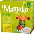 Mamuko - Био безмлечна пълнозърнеста каша с овес, зелена елда, ечемик, спелта и ръж - Опаковка от 240 g за бебета над 12 месеца -