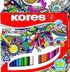 Цветни моливи - Мандала - Комплект от 50 цвята -