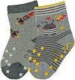 Детски чорапи за пълзене - Комплект от 2 чифта -