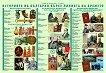 Двустранно табло по човекът и обществото за 4. клас: Историята на България върху линията на времето - книга за учителя