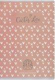 Ученическа тетрадка - Cactus Love : Формат A4 с широки редове - 60 листа - тетрадка
