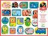 Стикери - Животни - Комплект от над 100 броя стикери