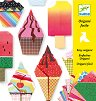 Оригами - Сладкиши - Творчески комплект - помагало