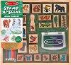 Тропическа гора - Творчески комплект с дървени печати -