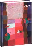 Lady Timer - Pink country: Календар - бележник 2020 - 11.00 x 15.3 cm -