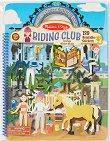 Клуб по езда - книжка със стикери за многократна употреба : Riding Club - Puffy Sticker Activity Book -