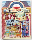 Домашни любимци - книжка със стикери за многократна употреба : Pet Place - Puffy Sticker Activity Book -