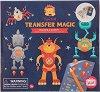 """Направи сам с трансферна хартия - Роботи - Творчески комплект от серията """"Tiger Tribe"""" -"""