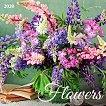 Стенен календар - Flowers 2020 - книга