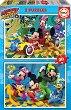 """Състезанието на Мики Маус - 2 пъзела от серията """"Мики Маус"""" -"""