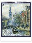 Стенен календар - Impressionism 2020 -