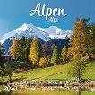 Стенен календар - Alpen 2020 - книга