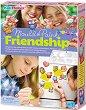 Направи сам магнити - Friendship - Творчески комплект -