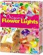Направи сама светещи цветя - Творчески комплект -