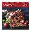 Стенен календар - Gourmet 2020 -