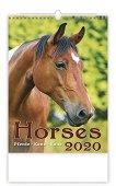 Стенен календар - Horses 2020 -
