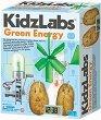 """Научна лаборатория - Зелена енергия - Детски образователен комплект от серията """"Kidz Labs"""" -"""