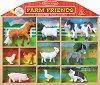 Животните от фермата - Комплект от 10 фигурки -
