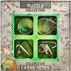 """Junior Metal Puzzles - Комплект 4 броя 3D пъзела от серията """"Casse-Tetes"""" -"""