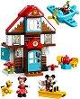 """Къщата за почивка на Мики Маус - Детски конструктор от серията """"LEGO Duplo"""" -"""