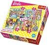 """Барби - Професии - 4 пъзела от серията """"Barbie"""" -"""