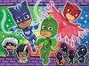 """Чудесен екип - Пъзел с едри елементи от серията """"PJ Masks"""" -"""