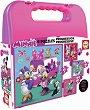 """Мини Маус и приятели - 4 пъзела от серията """"Progressive Puzzles"""" -"""