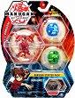 Bakugan Battle Planet - Dragonoid - Комплект от 3 бойни топчета за игра -