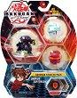 Bakugan Battle Planet - Darkus Lupitheon - Комплект от 3 бойни топчета за игра -