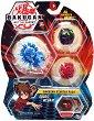 Bakugan Battle Planet - Aquos Webam - Комплект от 3 бойни топчета за игра -