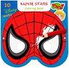 Маски за оцветяване - Анимационни герои - Творчески комплект от 10 маски - детска книга