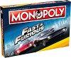 Монополи - Бързи и яростни - Семейна бизнес игра - игра