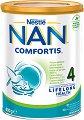 Висококачествена обогатена млечна напитка за малки деца - Nestle NAN Comfortis 4 - Метална кутия от 800 g за след 2 години -