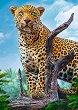 """Див леопард - Пъзел от колекцията """"Premium Quality"""" -"""