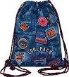 Спортна торба - Sprint: Badges B'Blue -